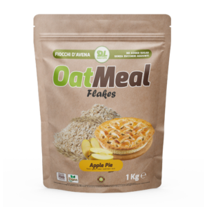 OatMeal Flakes Apple pie