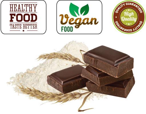 Farina OatMeal Instant gusto Chocolate delice