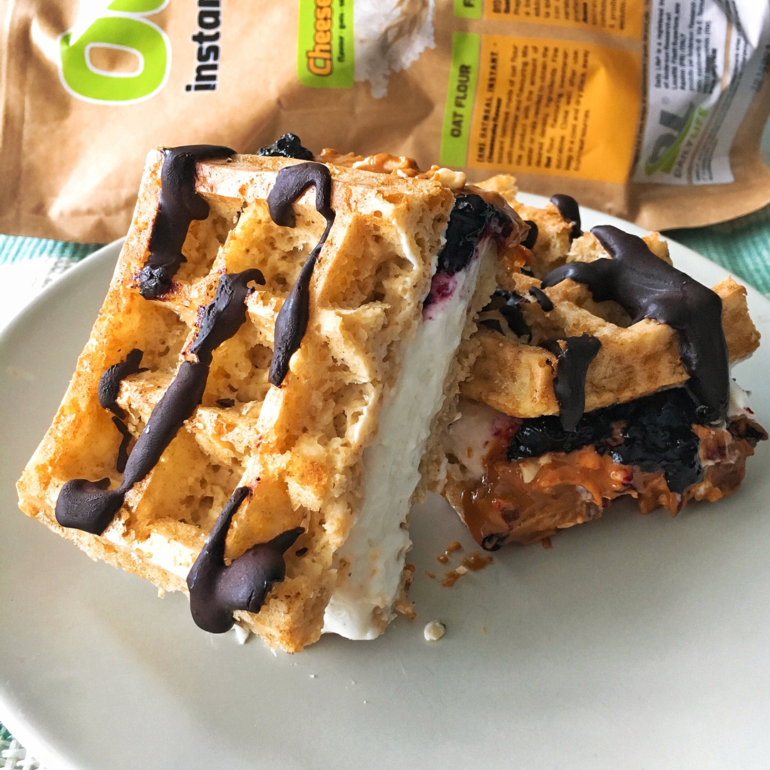 Cheescake Sandwich con OatMeal Instant Daily Life