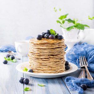 Protein Pancake Coconut