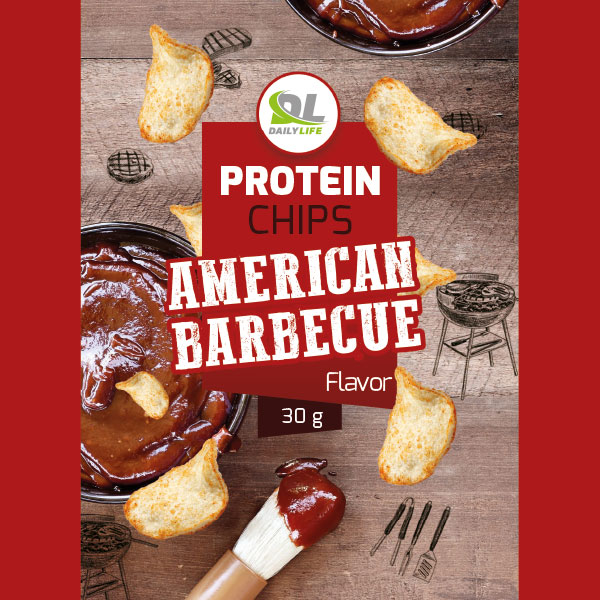 Protein chips american barbecue