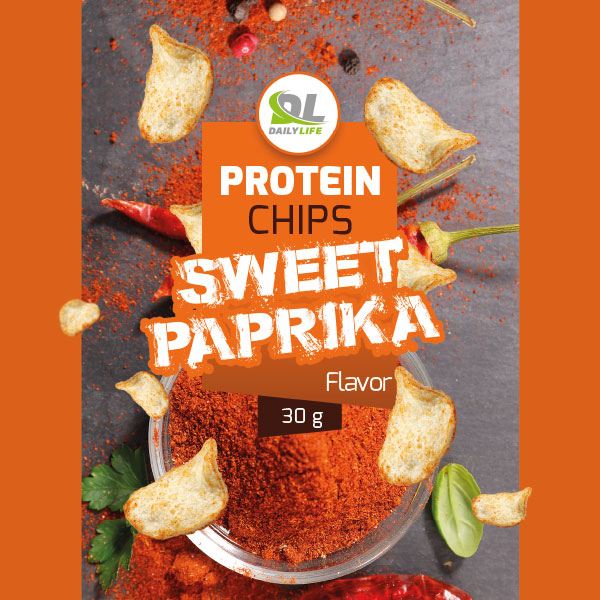 Protein chips sweet paprika