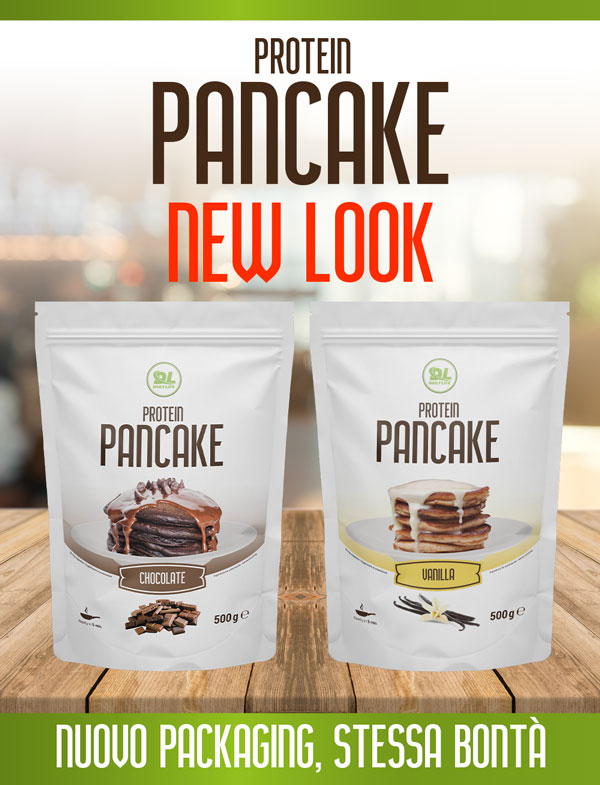Protein pancake New look!