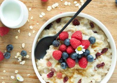 La colazione per stare in forma