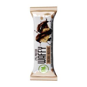 Wafer Proteico Protein Waffy al gusto di nocciola