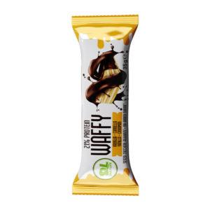 Wafer Proteico Protein Waffy al gusto di Vaniglia Cannella