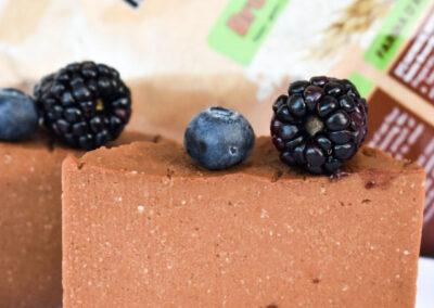 Torta proteica Brownies – Dolce cremoso al cucchiaio
