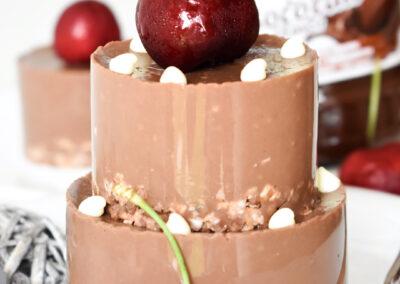 Cheesecake multistrato al cioccolato