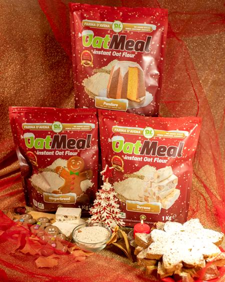 Farina di avena aromatizzata - Oat Meal Instant Flour - Christmas edition