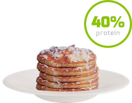 Protein Pancake Gusto Coconut